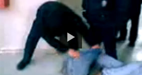 2 Mexico Special Police Force Officers Beating Suspect