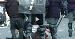 Police Brutality in Rome, Italy