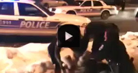 Ottawa Police Attacks And Punches An Innocent Man