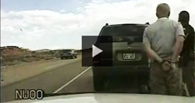 Driver Gets Tasered In Utah In Front Of Pregnant Wife