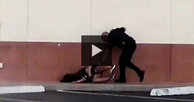 15 Year Old Girl Brutally Knocked Over By Cop