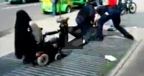 Washington D.C. Police Assault Homeless In Wheelchair