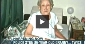 10 Cops Taser Innocent 86-Year-Old Woman Twice