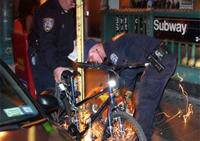 NYPD Removes Bicycles Without Any Reason Prior Warning