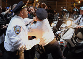 NYPD Cop Sucker-Punches a Occupy Wall Street Protester