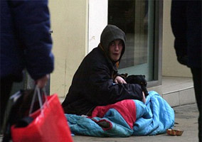 Four Police Officers Stole Money From Street Beggars