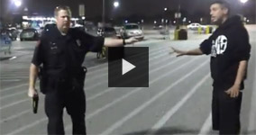 Houston Cop Harasses and Cuffs Two Innocent Men