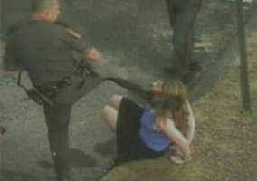 Officer Gets No Jail Time For Kicking a Handcuffed Girl
