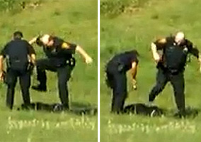 Connecticut Cops Brutally Beat Up a Suspect In Local Park