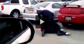 Police Tasering a Pregnant Woman